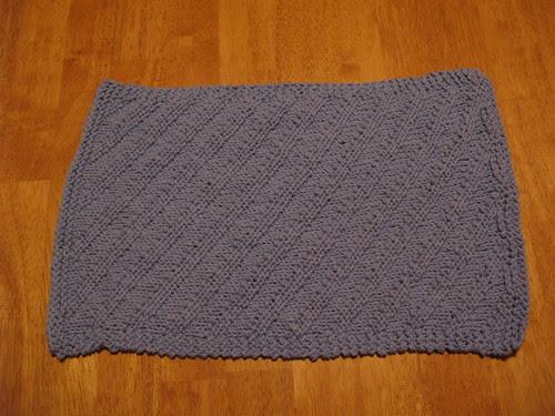 Ripple Towel Blue