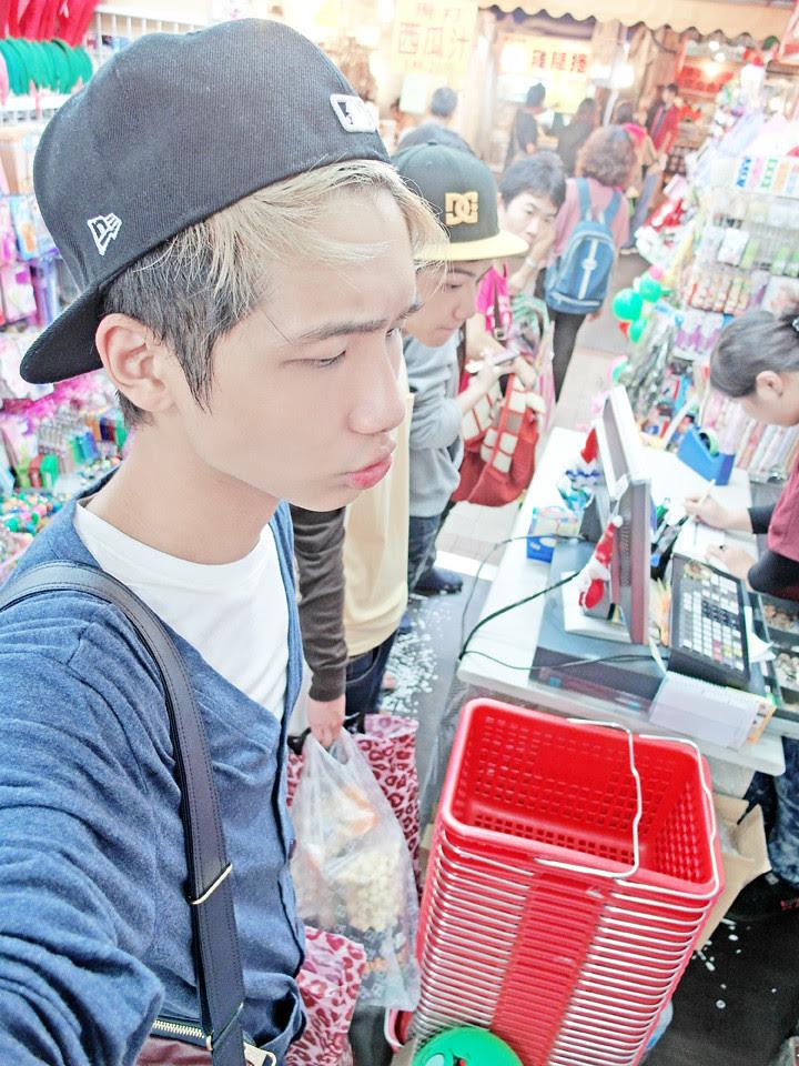 typicalben shop at Raohe Night Market