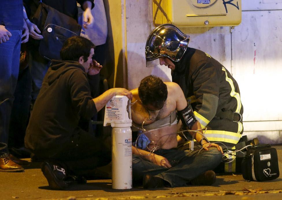 Hình ảnh Những hình ảnh thương tâm về vụ khủng bố tại Pháp số 9