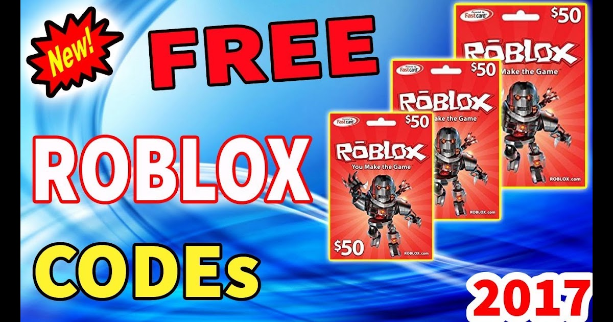 Codes Of Roblox Doc Free Robux Redeem Card Codes 2018