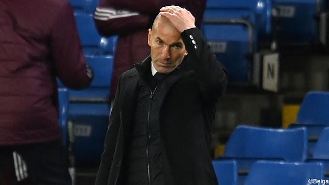 """Zidane: """"Eden moet vertrouwen terugwinnen, Chelsea was beter"""""""