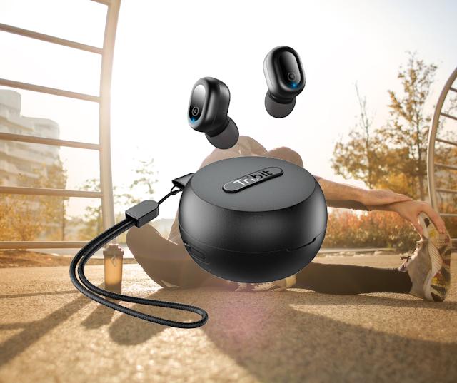 【Tribit FlyBuds 1 真無線運動藍牙耳機】具備 6 小時電量、 防水、立體聲 網店特價發售