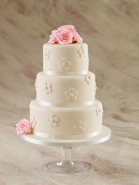 wedding cake decoration flower