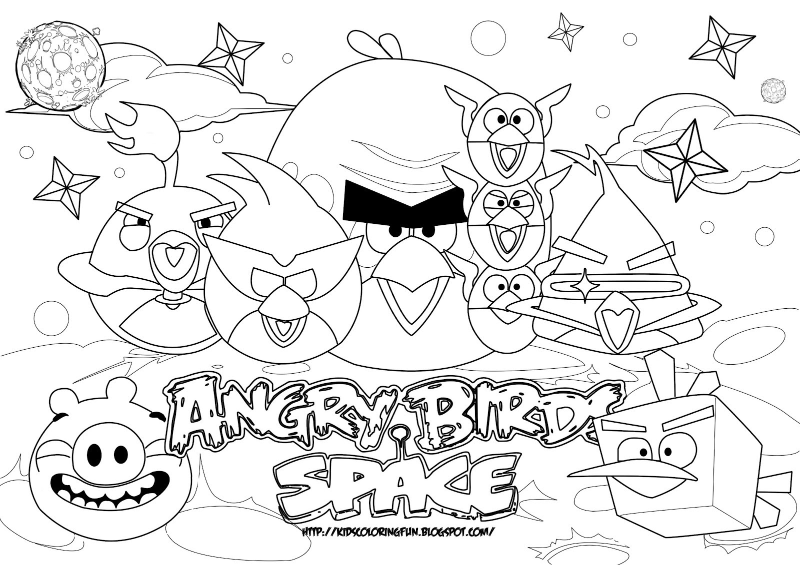 126 Dibujos De Angry Birds Para Colorear Oh Kids Page 13