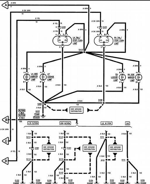95 s10 brake light wiring diagram
