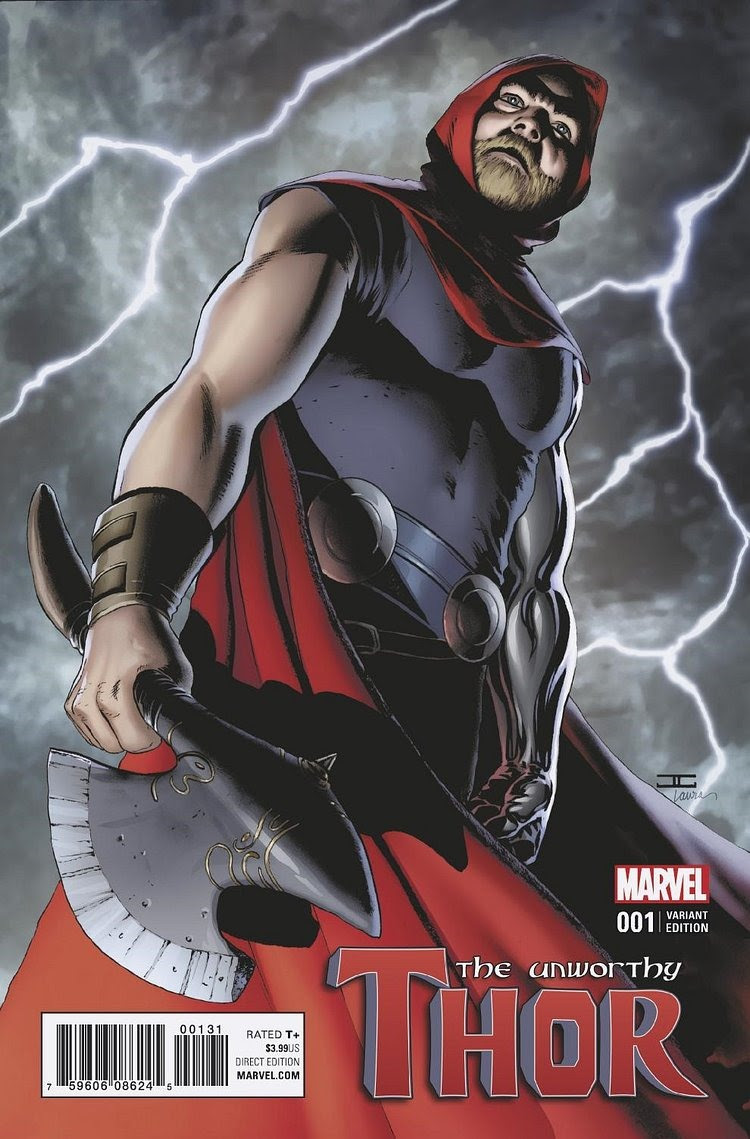 Image result for The Unworthy Thor #1 cover aaron coipel