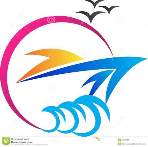 ship logo stock vector illustration  icon element