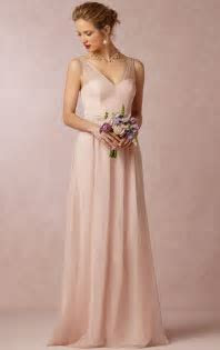 V neck A line Sleeveless Natural Floor length pink