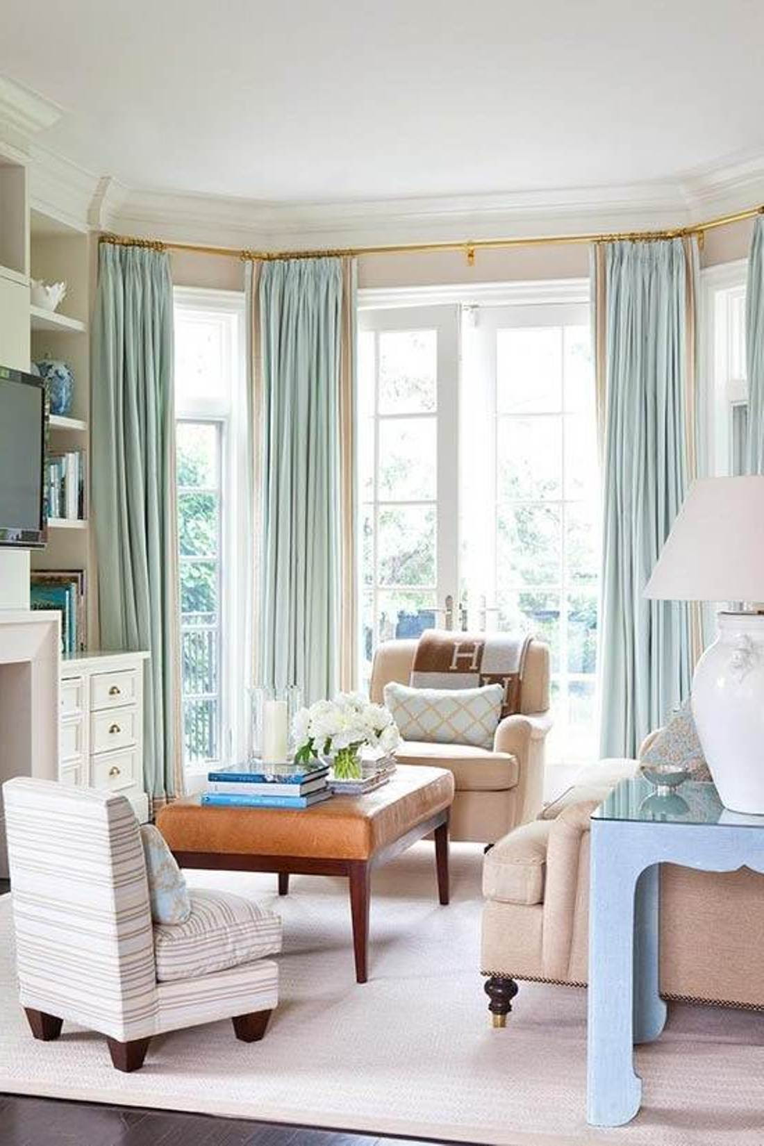 Window Coverings for Bay Windows That Will Create Visually Amazing Effects to Your Bay Windows ...