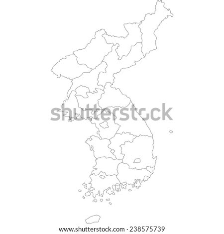 Image Result For Night Map Of North Korea