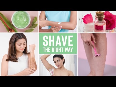 How To Shave The Right Way | Without Razor Bumps, Ingrown Hair & Strawbe