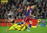 FC Barcelona vs Villareal Pictures
