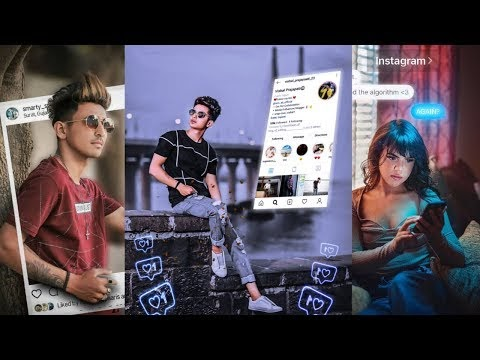 Picsart Instagram Viral PicsArt Editing Tutorial | Futuristic Editing in...