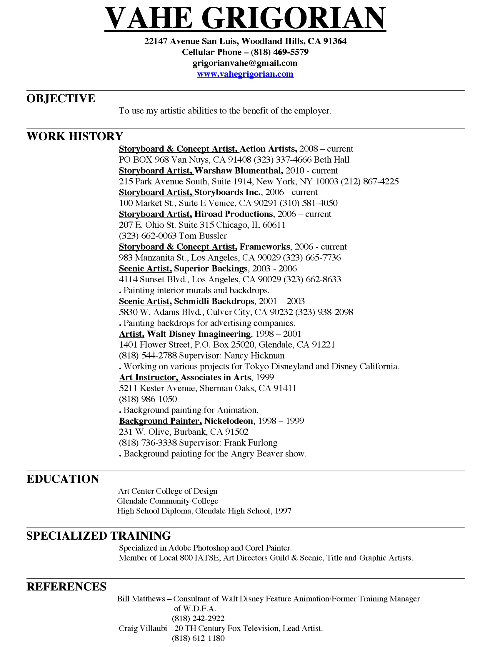 factory worker resume sample
