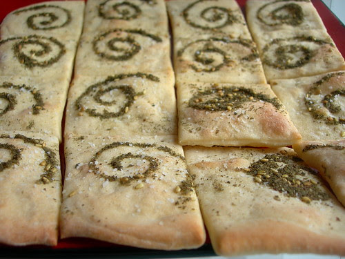 More lavash crackers