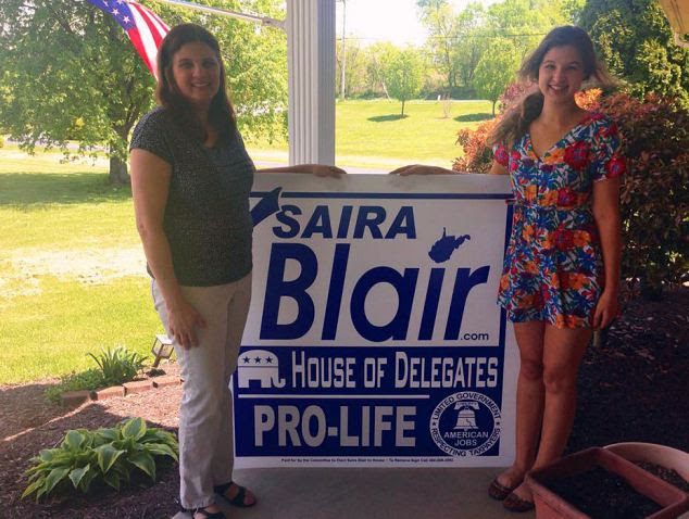 Saira and mother. After Tuesday's GOP primary, she is now one election away from becoming the youngest state lawmaker in West Virginia history - Larry Swan, sworn in as a 20-year-old delegate in 1972, set the current record