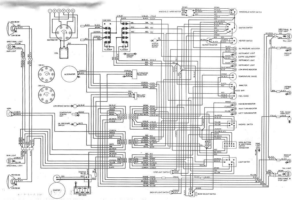 1986 Dodge 1500 Pickup Wiring - Wiring Diagram Schema