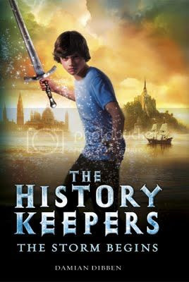 the history keepers: the storm begins by damian dibben