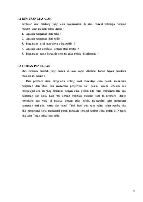 PANCASILA (makalah pancasila sebagai etika politik)