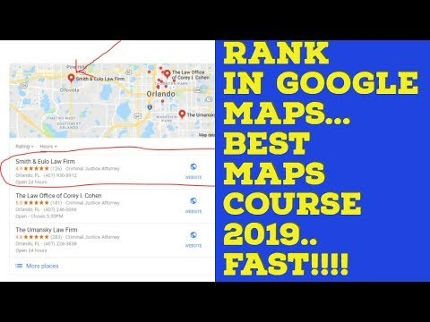 How to Rank in Google Maps in 2020