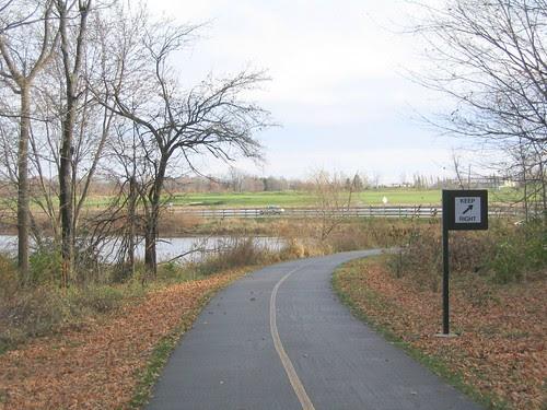 Cattail Trail near Purdue Golf Course