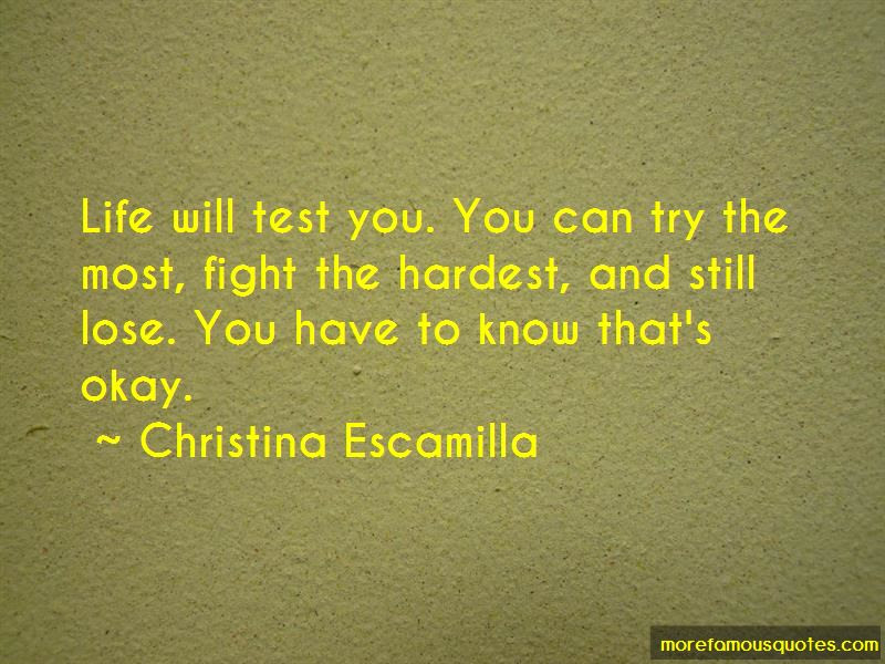Life Will Test You Quotes Top 31 Quotes About Life Will Test You