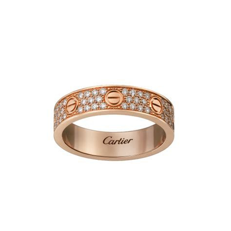 Original Copy Cartier Love Wedding Band 18K Yellow Gold
