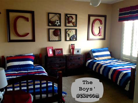 marci coombs  boys sports themed bedroom
