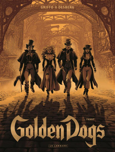 Couverture Golden dogs tome 1