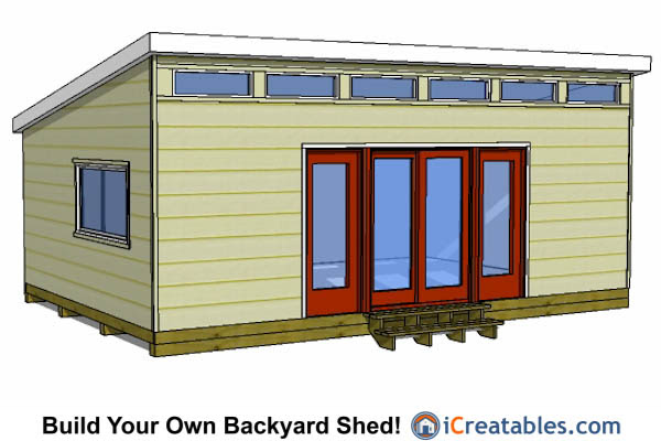 small storage buildings Shed Plans 16 X 24 – 16X24 Garage Plans