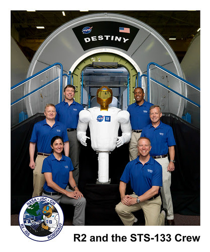 R2 and the STS-133 Crew