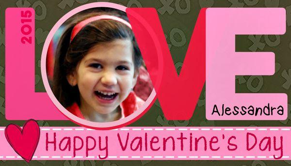 Alessandra Valentines Day Card