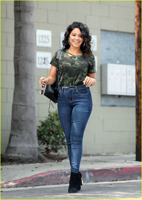 Gina Rodriguez Heads Out After Directing an Episode of