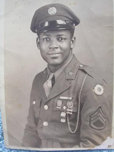 WW2 Black soldier by hliguy