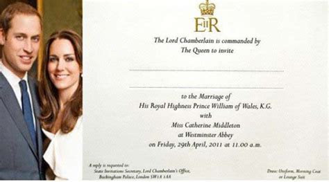 The Beezbook: The Royal Wedding's Invitation, Best Man and