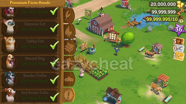 FarmVille 2: Country Escape v5.8.1062 Cheats