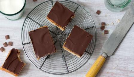 BBC Food - Recipes - Millionaire's shortbread