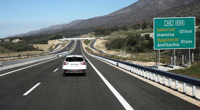 Ιόνια Οδός: Παραδίδονται τα πρώτα 11 χλμ Αντίρριο-Αμφιλοχία - Κεντρική Εικόνα