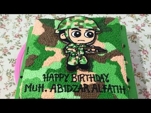 Gambar Kue Ulang Tahun Tentara 04 Kue Ulang Tahun