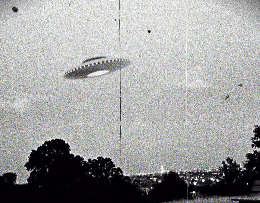 Conspiracy theorists believed remains of UFO spacecrafts were stored at Area 51, and that government scientists were researching the remains to engineer the aliens technology