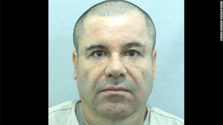 """Mexican authorities released what they said was a recent photograph of escaped drug lord Joaquin """"El Chapo"""" Guzman as they announced a reward for information leading to his capture."""