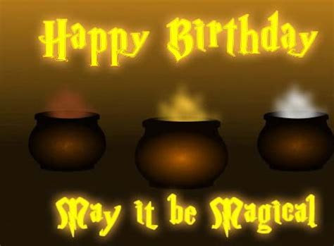 Magical Birthday  Free Happy Birthday eCards, Greeting