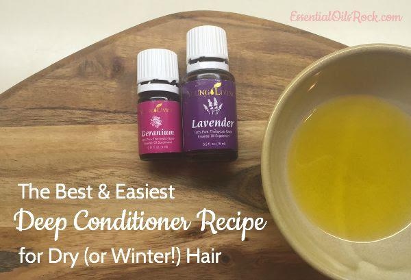 DIY Deep Conditioner Recipe For Dry Hair - Essential Oils Rock