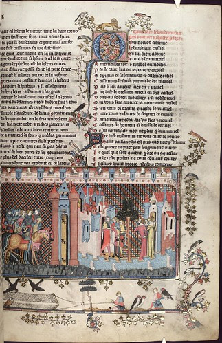The Romance of Alexander 119r MS. Bodl. 264