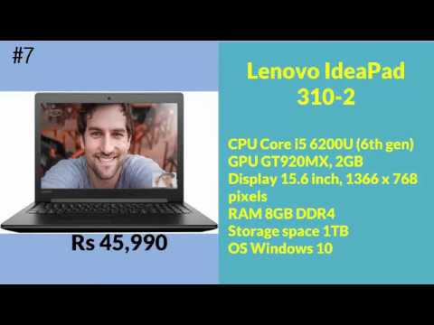 Compare Laptops-Top 10 Best i5 Laptop Under 50000 In India-2017