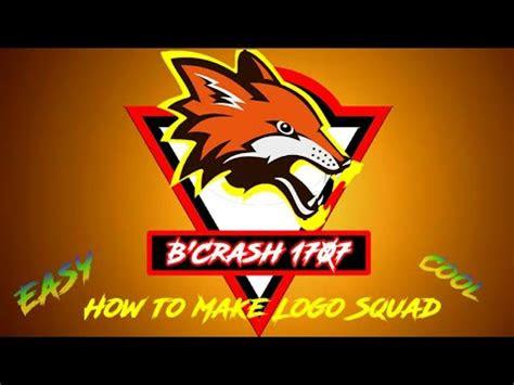 membuat logo squad  android keren youtube