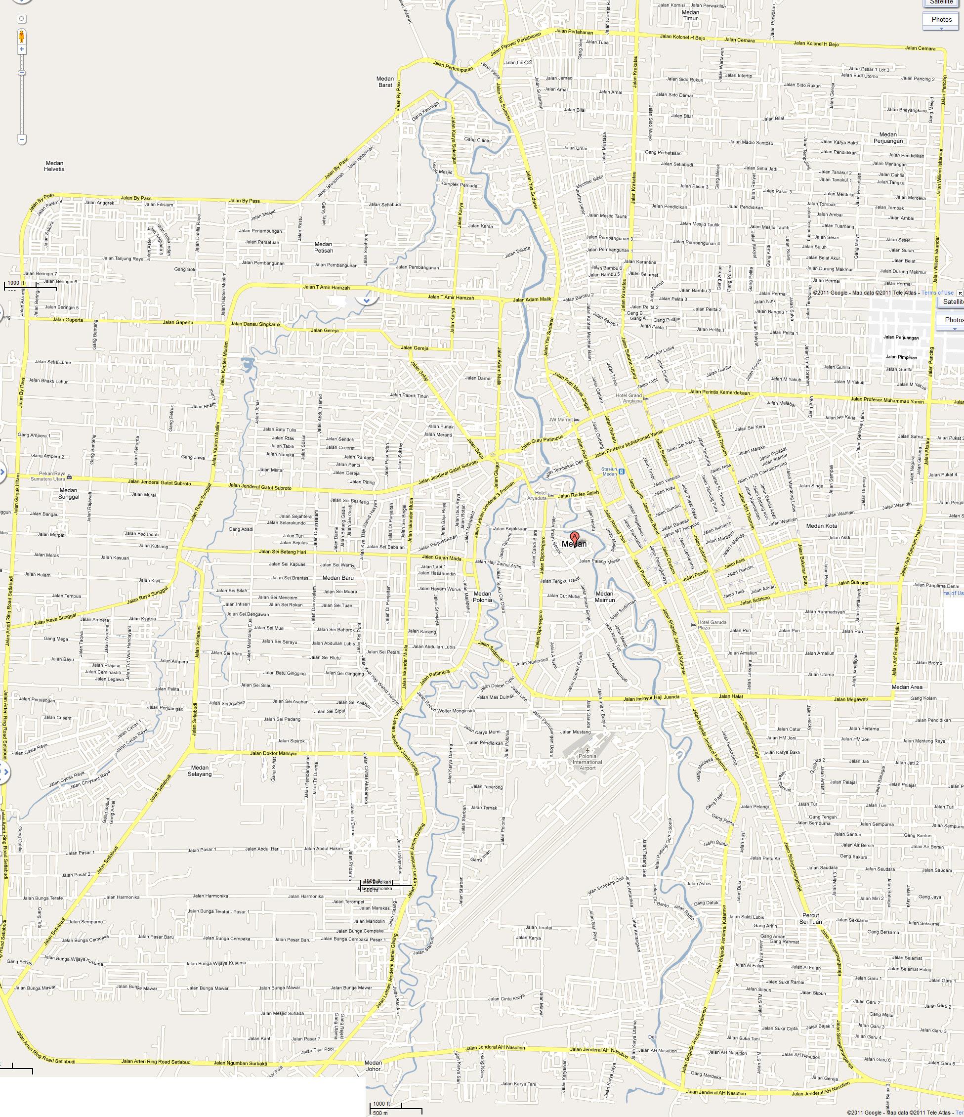 Peta Medan Besar