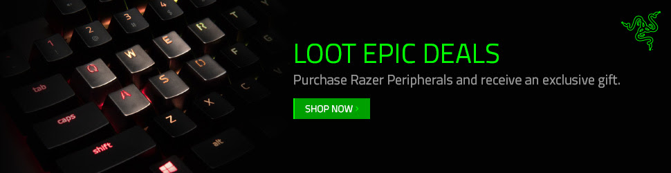 Razer - Affiliate Exclusive Epic Deals (Keyboards)