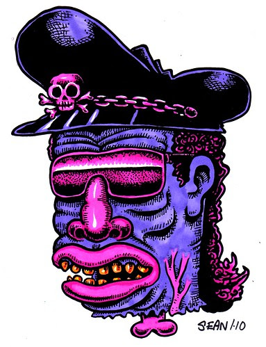 Ice Cee Voodoo Haiti Tribute Blue