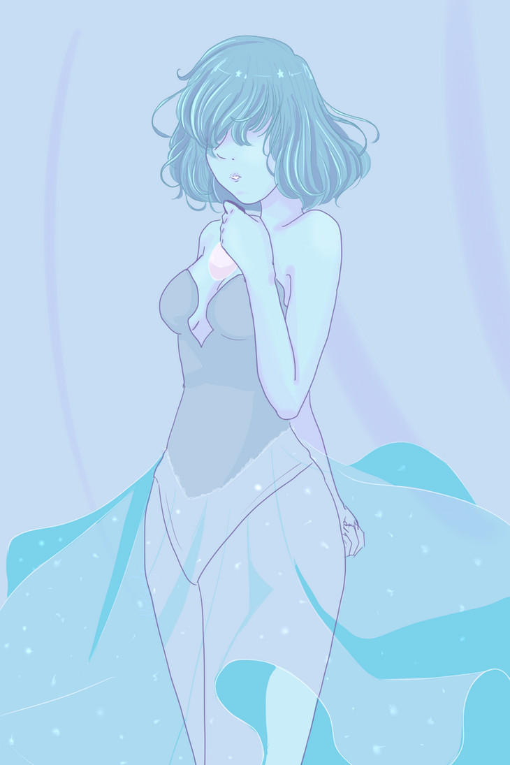 "The blue pearl design in ""The Answer""was soooooooo beauty!! I can't help myself but do a little doodle of hers (=w"